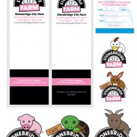 Stonebridge City Farm - branding
